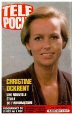 ▬►Télé Poche 820 (1981) OCKRENT_ROMAN PHOTOS DOROTHÉE_WARNING_LINE RENAUD
