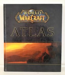 World of WarCraft Atlas BOOK Role Playing Games HC