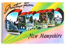 Greetings from Concord New Hampshire Fridge Magnet travel souvenir