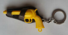 Porte-clé gaine + révolver jaune fusil Vintage