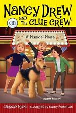 A Musical Mess (Nancy Drew and the Clue Crew)-ExLibrary