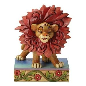 Simba Lion King Just can't wait to be King Jim Shore Disney 4032861