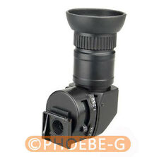 1.25x-2.5x Angle Finder for Nikon D40 D40X D60 D70 D80 D90 D100 D200 D300 D300S