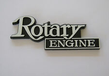 MAZDA ROTARY ENGINE rear badge Brand NEW RX3 RX4 RX2 RX5 12A 13B