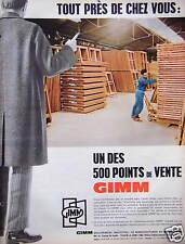 PUBLICITÉ GIMM MENUISERIES TOUT PRÈS DE CHEZ VOUS UN DES 500 POINTS DE VENTE