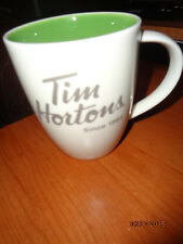 Tim Hortons 2014 Coffee Mug/Green Inside - NEW