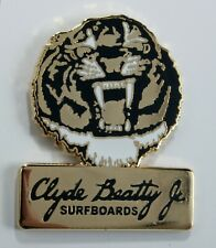 Classic Surf Logo Clyde Beatty Jr. Surfboards enamel pins