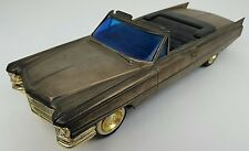 Vintage 1963 Cadillac Novelty Car Toy AM Transistor Radio Battery Op 9v Untested