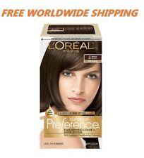 L'Oreal Superior Preference Hair Color 5 Medium Brown Natural FREE WORLD SHIP