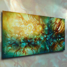 Abstract Art Modern CONTEMPORARY Painting Mounted Giclee Canvas Print Mix Lang