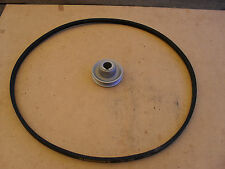 1X NEW SET OF 55MM PULLEY AND M39 VEE BELT FOR INDUSTRIAL WALKING FOOT MACHINE