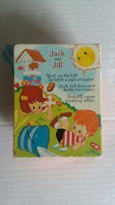 Vintage Fisher Price Jack and Jill Music Box Pocket Radio 1973 #8351