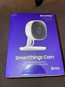Samsung SmartThings Cam 1080p HD Indoor Security Camera