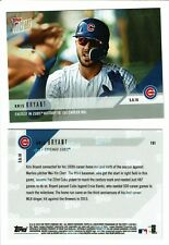Lot of (3) IN HAND! 2018 TOPPS NOW Card KRIS BRYANT Fastest CUBS HISTORY 100 HRS