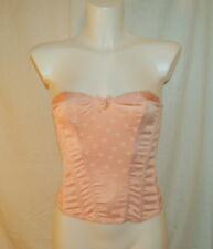 Lepel souffle bustier pink size 10 sexy lingerie new with tags