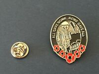 Sales 2020 UK Remembrance Day Veteran Army Red Poppy Enamel Pin Badge Brooch