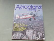 LOOK* Vintage AEROPLANE MONTHLY Magazine March 1979 - Scimitar, Avian, Drover