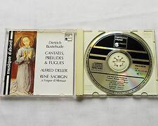 SAORGIN-DELLER / BUXTEHUDE Jubilate Domino W.GERMANY CD HMA 190700(1988) MINT