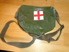 Surplus Original Chinese Pla Type 65 Medical Bag Green Nylon With Strap
