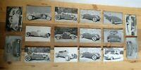 Lot of 16 Car Craft Magazine & Hot Rod Magazine Cards 1950-60's + Models T's
