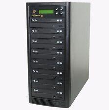 Copystars 1-7  DVD CD Sata Asus/Liteon 24X CD+G text Burners Duplicator tower