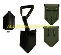 NEW Military AMES Entrenching Tool Shovel & Cover E-Tool NSN:5120-00-878-5932