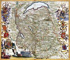 Reproduction carte ancienne - Duché de Savoie XVIIè - 2
