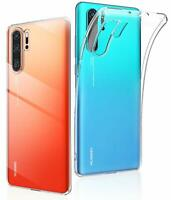 Huawei P30 Pro Liquid Crystal Hülle Cover Transparent Durchsichtig Case