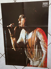 The Rolling Stones large promotional DECCA folded poster Mick Jagger