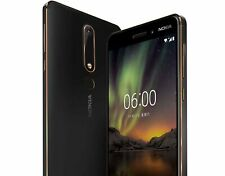 "NEW *BNIB* Nokia 6.1 2018 5.5"" ANDROID GLOBAL Smartphone Black/Copper/32GB"
