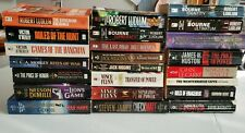 Lot of 23 Paperback Books Fiction Thriller Suspense MIlitary Political
