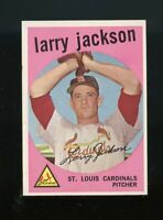 1959 Topps BB Card #399 Larry Jackson St. Louis Cardinals NM-MT OR BETTER