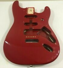 1995 Fender Stratocaster Standard MIM Body Red