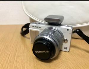 OLYMPUS PEN Mini E-PM2 body + lens shipped from Japan