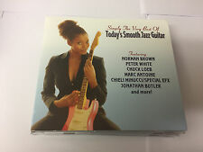 Todays Smooth Jazz Guitar - Simply The Very Best Of  CD Album SHANACHI - MINT