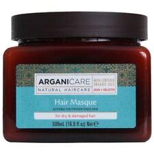 Arganicare restaurando Máscara cabelos para cabelos secos e danificados Óleo de Argan Orgânico