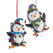 Whimsical Penguins Ornament