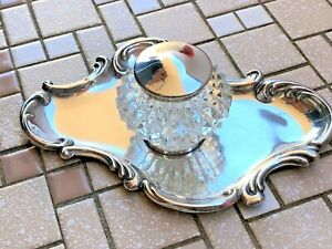 Art Nouveau (American?) - Sterling Silver Dresser Set