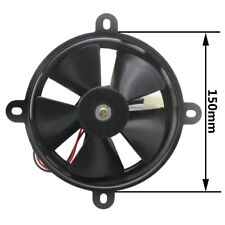 12V 6 inch Thermo Radiator Cooling Fan For Trial Dirt Bike ATV Quad Buggy