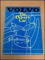 1981 Volvo 20-page GL GLT Turbo Original Car Sales Brochure Catalog
