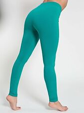 American Apparel Winter Leggings in the color Evergreen (XS)