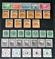 BEAUTIFUL COLLECTION OF EARLY NICARAGUA AND ECUADOR STAMPS.  MOST MINT