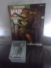 CLASSIC MARVEL FIGURINE COLLECTION 123 THE ENCHANTRESS FIGURE BOXED WITH MAG