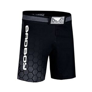 Bad Boy MMA Legacy Prime Shorts Black Training Fight Gym Martial Arts