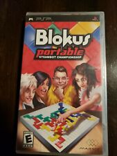 Blokus Portable: Steambot Championship (Sony PSP, 2008) New sealed !