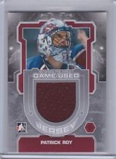 Patrick Roy 12/13 ITG Between The Pipes Jersey M-54