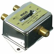 Rca Coaxial Cable Switch 2-Way