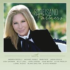 (CD) Barbra Streisand - Partners (Sep-2014, Sony Music Entertainment)