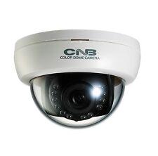 CNB LRP-50S W Analog 960H CCD 700TVL Indoor IR Dome Camera 12 IR LED 12VDC White