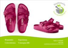 BIRKENSTOCK ARIZONA EVA Beetroot Purple Sandalo Ciabatta Doppia Fascia Donna